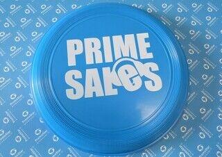 Frisbee logoga  - Prime Sales