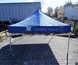 Logoga pop up telk - Viimsi vald