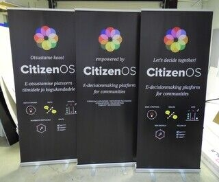 Roll up bännerid - Citizen OS