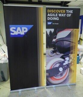 Roll up bännerid - SAP