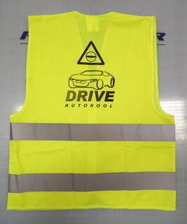 Helkurvest logoga - Autokool Drive