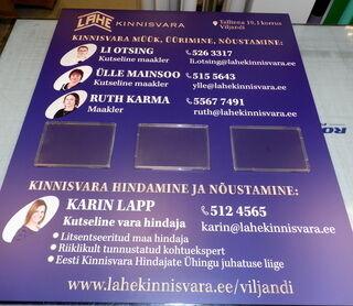 Reklaamstend - Lahe Kinnivara