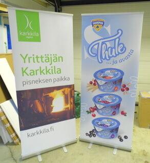 Roll up stendid - Saaremaa piimatööstus