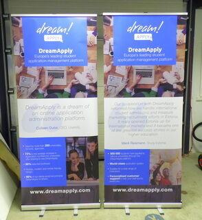 Roll up bänner - Dream apply