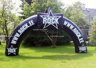 Saku Rock täispuhutav reklaam