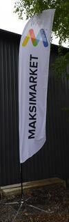 Maksimarket reklaamlipp