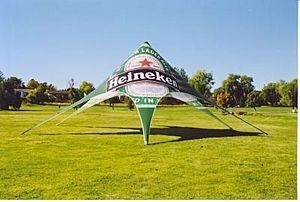 Star teltta logolla Heineken