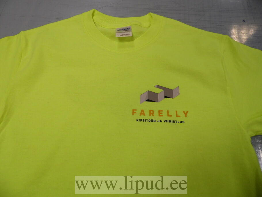 9cd20508b8f Logoga t-särk - Farelly