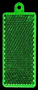 Helkur ristkülik 32x78mm roheline